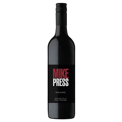 2018 Mike Press Adelaide Hills Shiraz