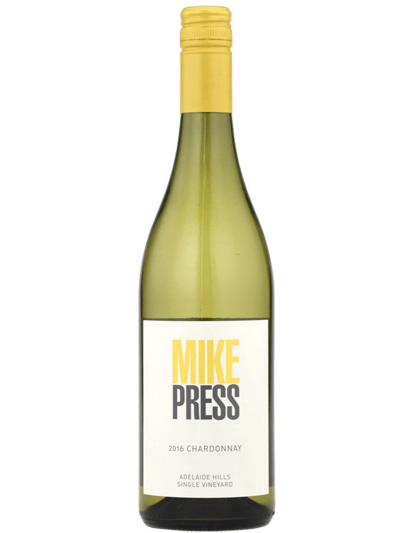 2018 Mike Press Adelaide Hills Chardonnay