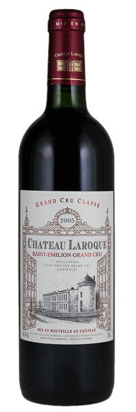 2005 Chateau Laroque Saint Emilion Bordeaux Cabernet Blend