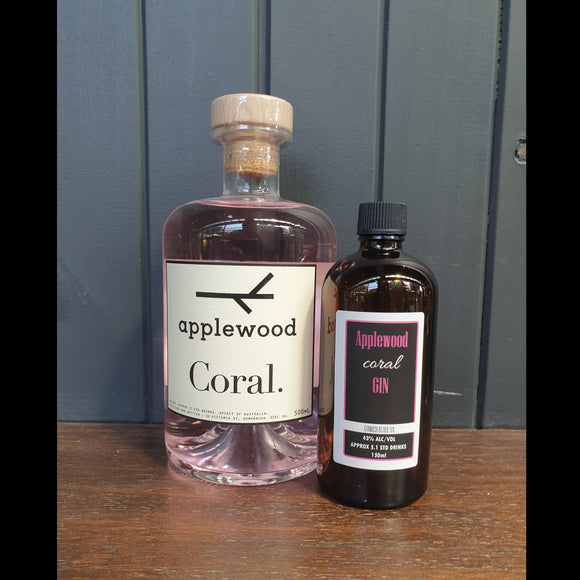 Applewood Coral Gin - 150ml