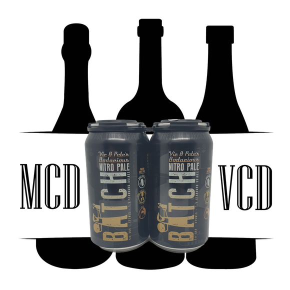 Batch Nitro Pale Ale Cans - 4pk (5.4% ABV)