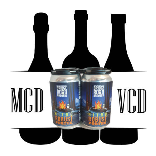 Bridge Rd NITRO Robust Porter Cans - 4pk (5.2% ABV)