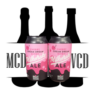 Bright Brewery Cherry Cream Dream Nitro Milkshake Ale Cans - 2pk (5.7% ABV)