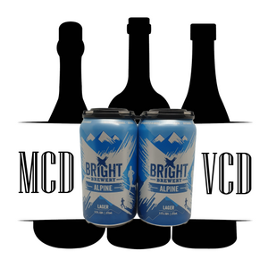 Bright Brewery Alpine Lager Cans - 6pk (4.5% ABV)