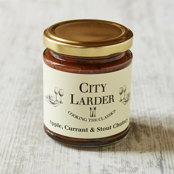 City Larder Apple, Currant & Stout Chutney 200g