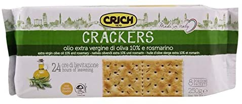 Crich Extra Virgin Olive Oil & Rosemary Crackers