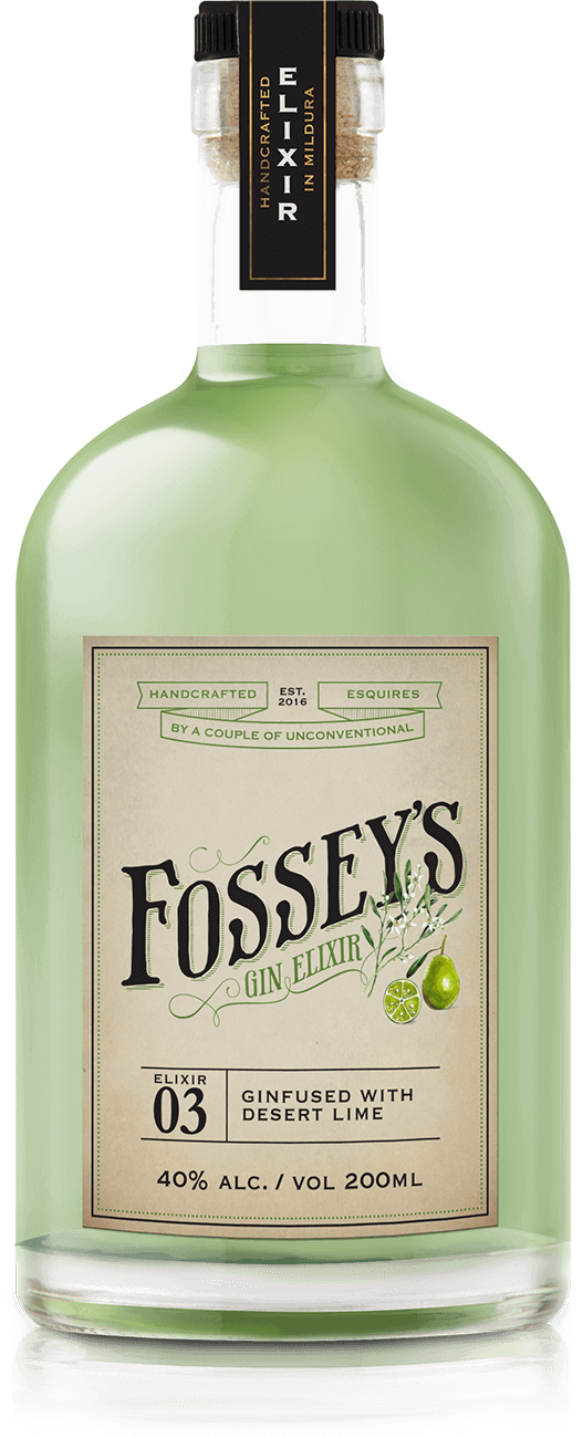 Fossey's Desert Lime Gin - 500ml