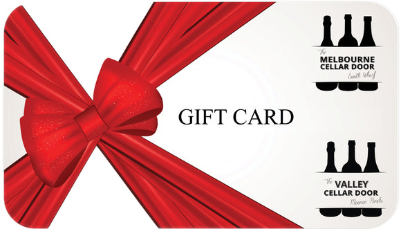 MCD & VCD Online Wine Store Gift Cards