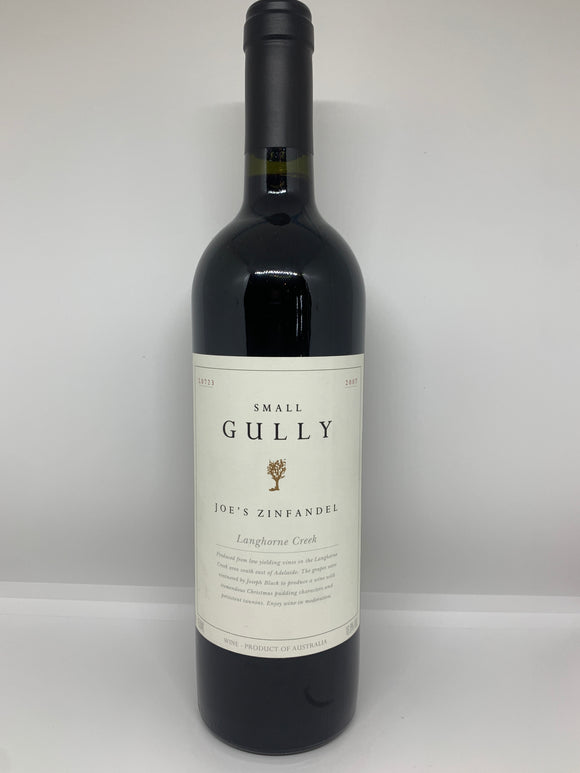 2007 Small Gully 'Joe's' Langhorne Creek Zinfandel