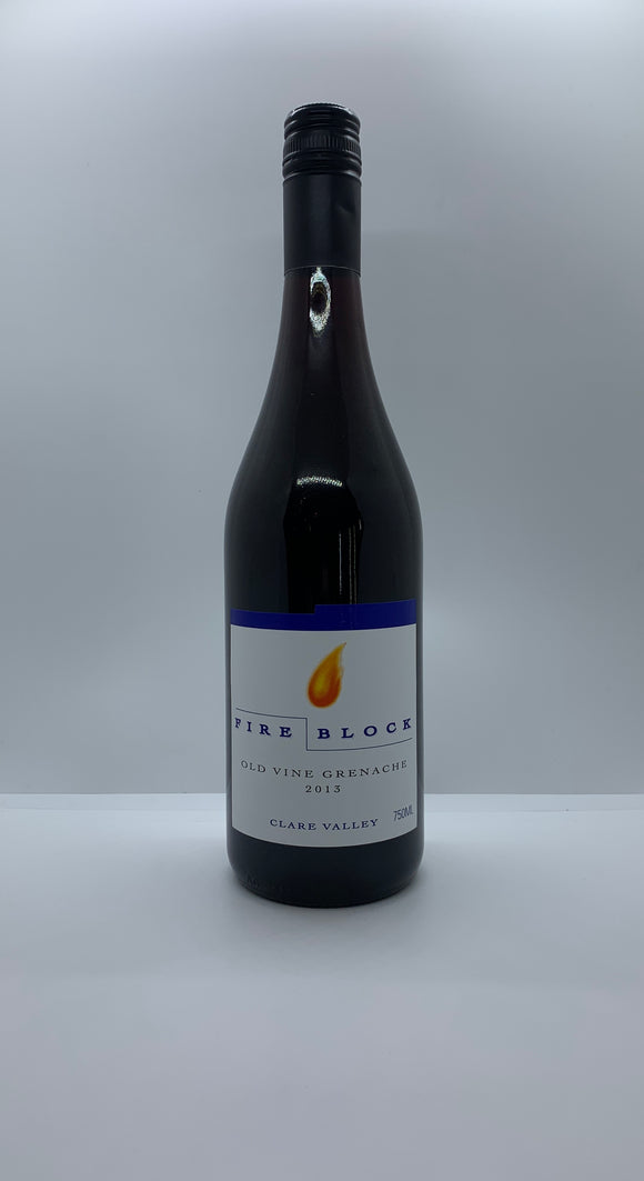 2013 Fire Block 'Old Vine' Clare Valley Grenache