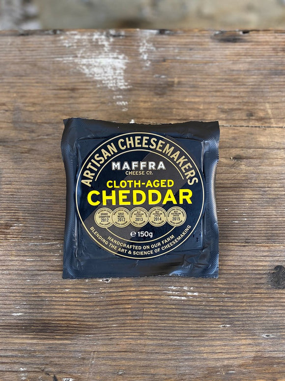 Maffra Cheese Company Cloth-Aged Cheddar 150g