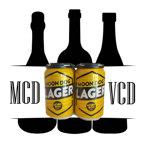 Moon Dog Lager Cans - 6pk (4.5% ABV)