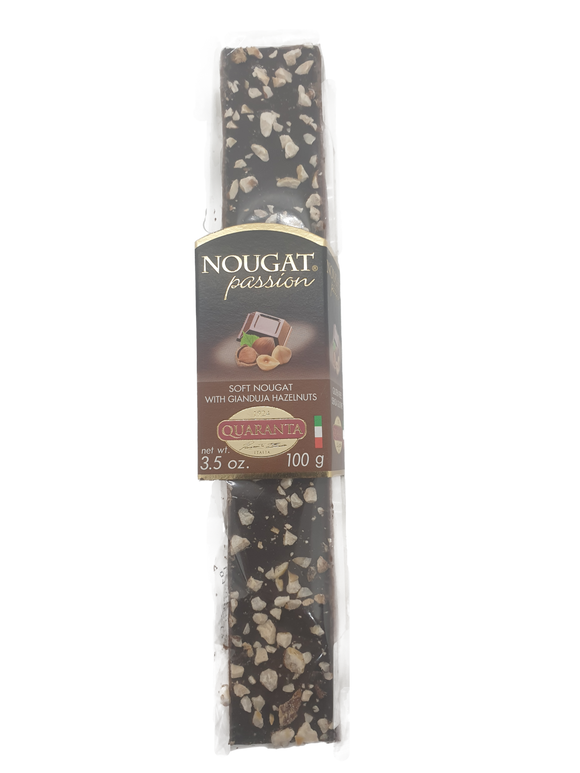 Quaranta Soft Nougat with Gianduja Hazelnuts - 100g