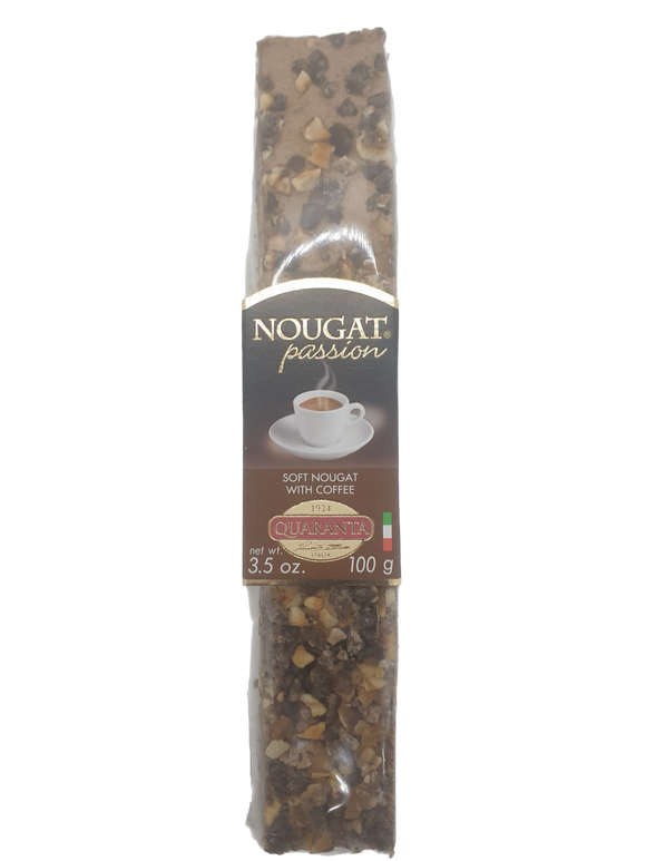 Quaranta Soft Nougat with Coffee - 100g