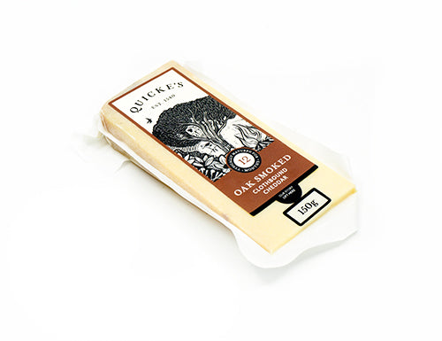 Quicke's Oak Smoked Cheddar (12 month) 150g