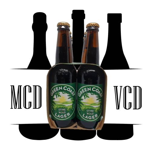 Stone & Wood Green Coast Lager Bottles - 6pk (4.7% ABV)