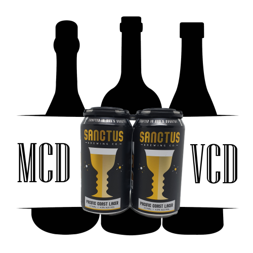 Sanctus Brewing Co. Pacific Coast Lager Cans - 4pk (4.5% ABV)