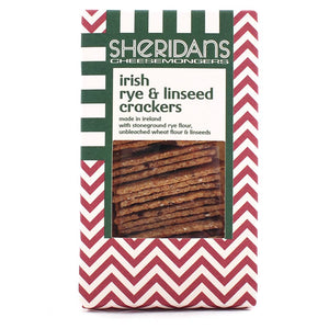 Sheridans Irish Rye & Linseed Crackers