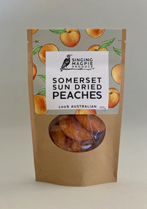 Singing Magpie Somerset Sun Dried Peaches