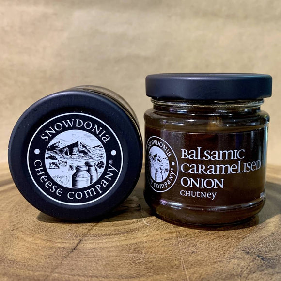 Snowdonia Balsamic Caramelised Onion Chutney