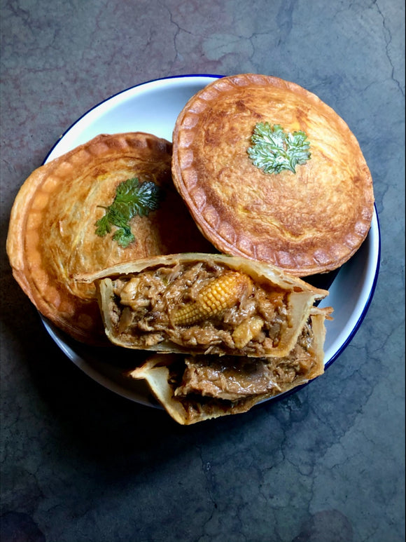 Thai Red Curry Duck Pie