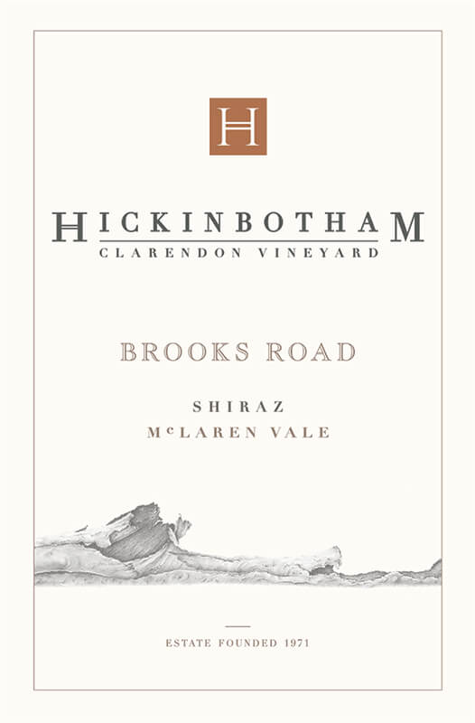 2012 Hickinbotham Clarendon Vineyard 'Brooks Rd' McLaren Vale Shiraz