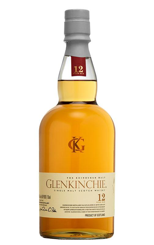 Glenkinchie 12 Year Old Scotch Whisky - 700ml