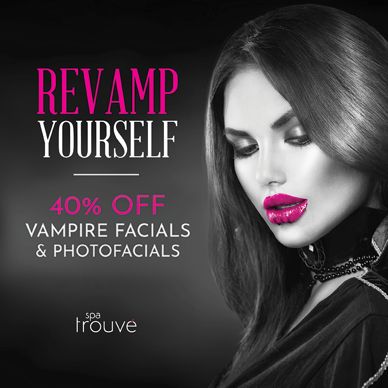 40% OFF Vampire Facials & Photofacials