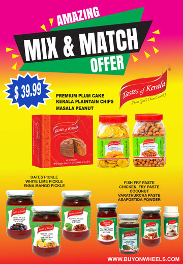 Mix & Match Offer