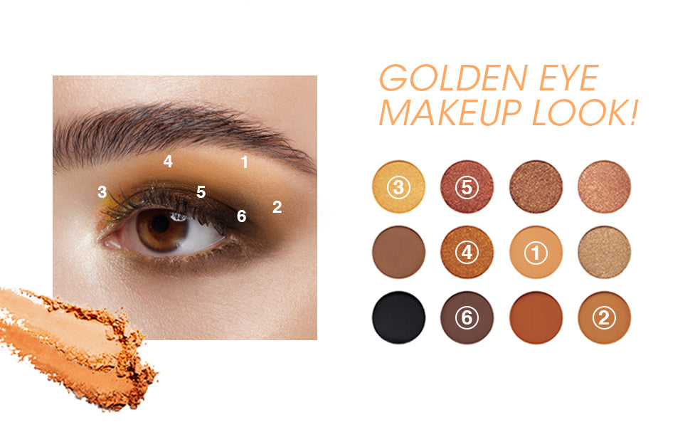 GOLDEN EMPIRE - SECRET OF PHARAOH EYESHADOW PALETTE
