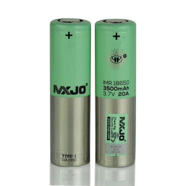 MXJO - Single 18650 Batteries 20A - 3500mAh