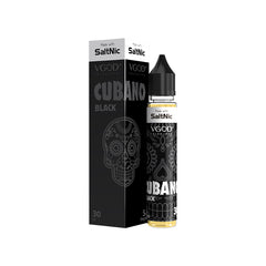 VGOD Nic Salt - Cubano Black -30mL
