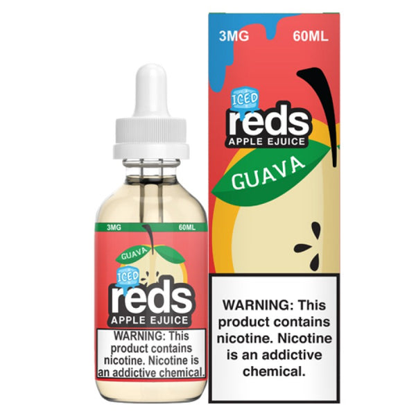 7Daze - Reds Guava ICE - 60mL
