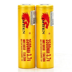 IMREN Golden 40A 3,000mAh 18650 Battery
