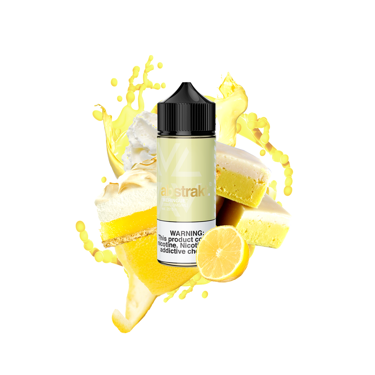 Abstrakt Vape Co. - Meringue - 120mL