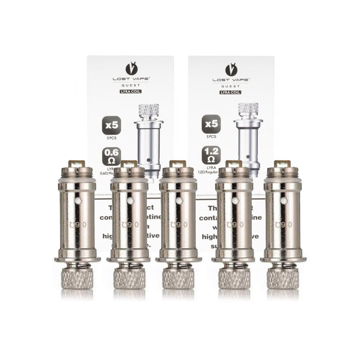 Lost Vape Quest Lyra Replacement Coil (Pack of 5)