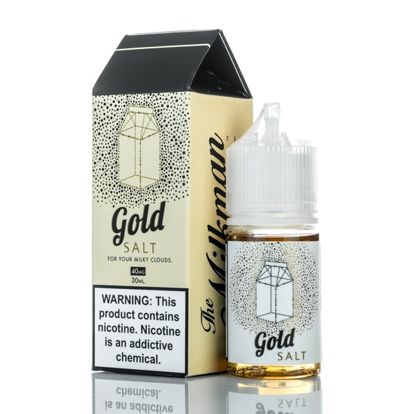 The Milkman Salt - Gold - 30mL