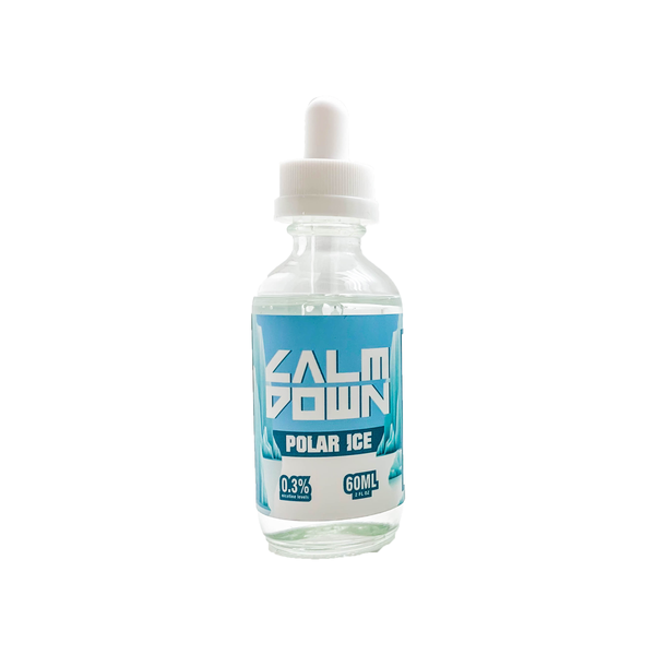 Calm Down Menthol E-liquid - Polar ICE - 60mL