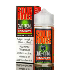 Sour House - Strawberry - 100mL