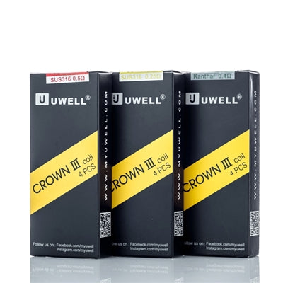 uWell - Crown 3 Replacement Coils