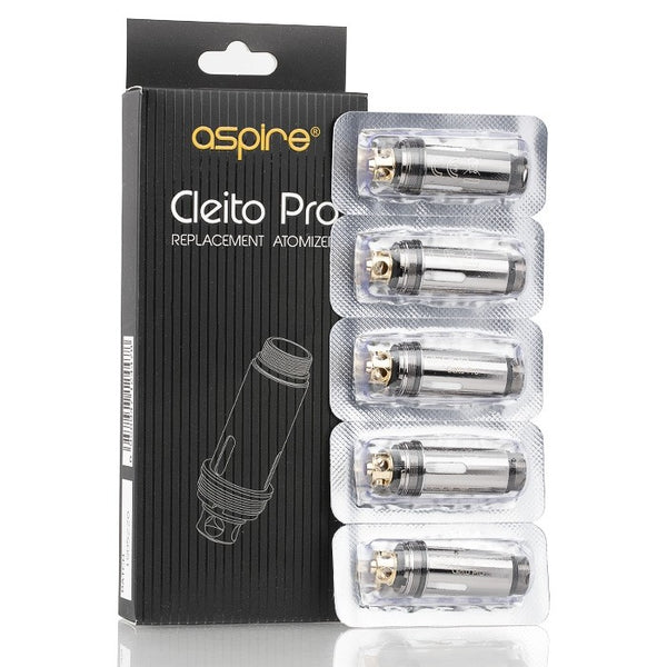 Aspire - Cleito Pro - Replacement Coils (Pack of 5)