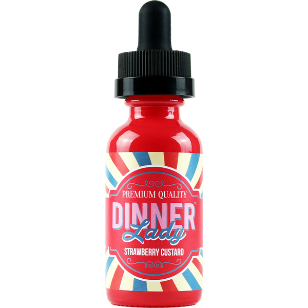 Dinner Lady - Strawberry Custard - 60mL