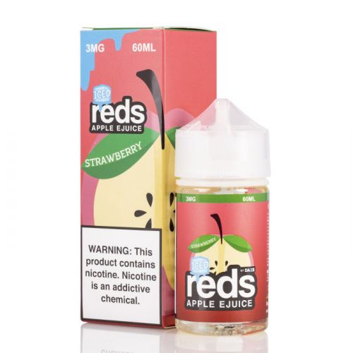 7Daze - Reds Strawberry ICE - 60mL