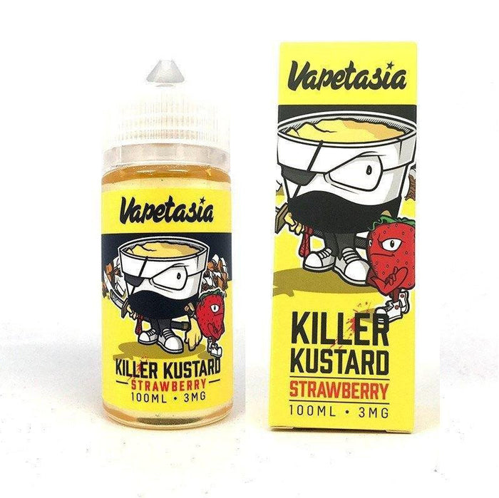 Vapetasia - Killer Kustard Strawberry - 100mL