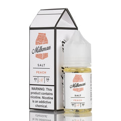 The Milkman Salt - Peach - 30mL