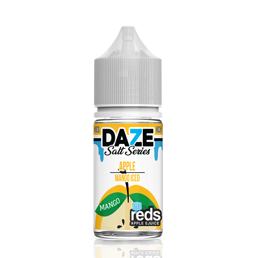 7Daze - Reds Mango ICE Saltnic - 30mL