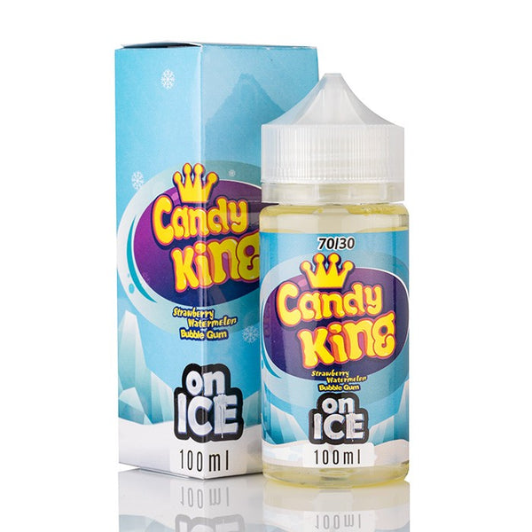 Candy King on ICE - Strawberry Watermelon Bubble Gum ICE - 100mL