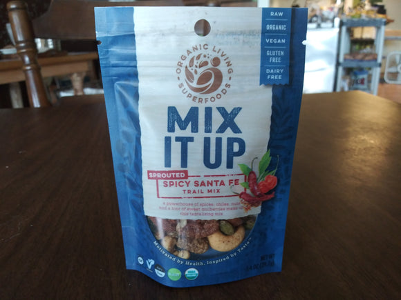 Organic Spicy Santa Fe Trail Mix -- Large Size