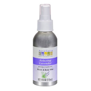 Aura Cacia Relaxing Lavender Room & Body Mist