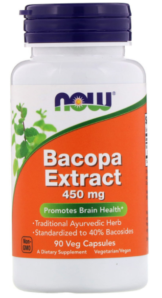 Bacopa Extract -- Bow Brand 450 mg
